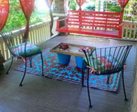 outdoor rug decor