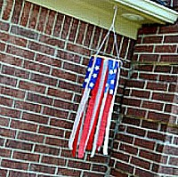 fourth of July windsock