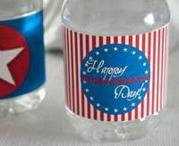 free Fourth of July bottle printables