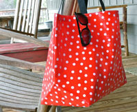 waterproof beach tote bag