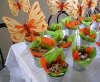 butterfly kids party decor