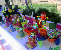 monster kids party theme
