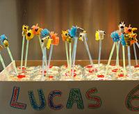 kids party animal decor