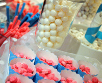 candy buffet kids party theme