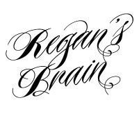 logo for the etsy store, regansbrain