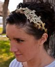 vintage lace headband bridesmaid gift