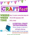 craftfest event poster