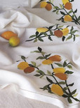Craft Bits story on the new trend in vintage linens