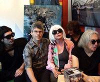 Craft bits news item on Debbie Harry vintage auction