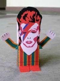 ziggy stardust paper doll