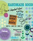 south beach indie craft market flyer
