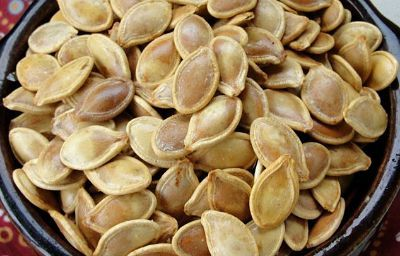 roasted pumpkin seeds butter salt