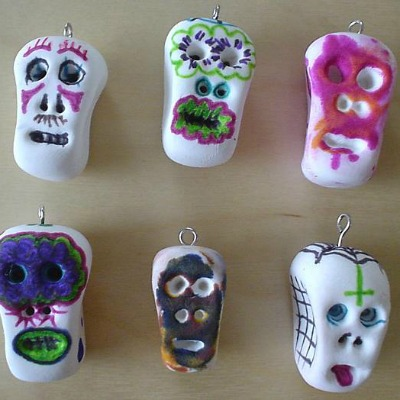 Day of the Dead craft sugarskulls