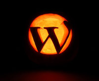 wordpress pumpkin carving idea