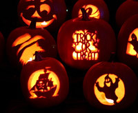 nautical pumpkin carving idea