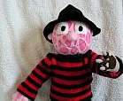 freddy kruger horror movie soft toy