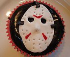 halloween horror movie cupcake