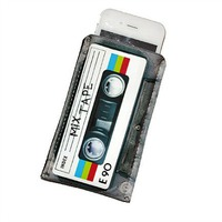 iphone case, cassette craft, crafty iphone case, etsy