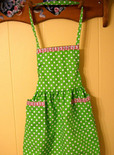apron made from a sheet