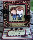 twilight paper card