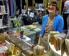 vendor at craft fair