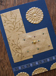 Handmade holiday card ideas, how to emboss foil