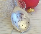 vintage newlywed christmas ornament