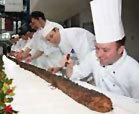 longest yule log