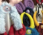 plush toys at craft fair