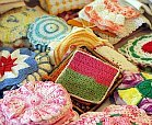 crochet doilies from craft fair