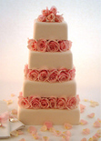 Mich turner DIY wedding cake