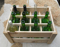 crate DIY wine rack