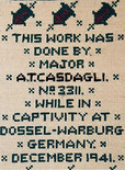 Craftfoxes craft bits news story on World War II anti-nazi embroidery