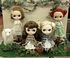dolls from craft fair