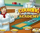 craft-inspired online game, cooking academy