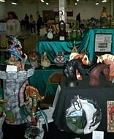 display from craft fair