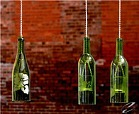 wine bottle craft from fair