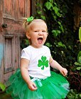 baby wear shamrock T-shirt
