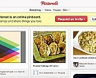 Pinterest, an online scrapbook