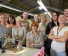 British garment factory workers