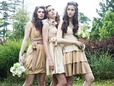 handmade bridesmaid dresses