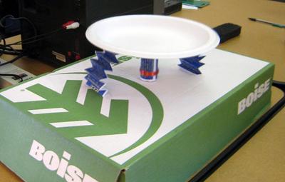 paper plate speaker