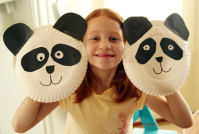 paper plate puppet craft for kids