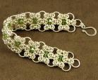 crochet metal bracelet from craft fair