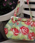 handbag from craft fair