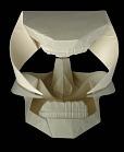 skull origami