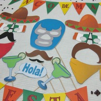 Cinco de Mayo photo booth printables