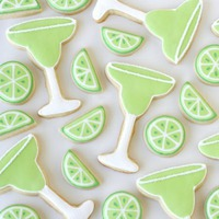 Cinco de Mayo margarita cookie