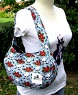 fabric tote bag from craft fair