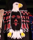 A dance costume for the Folklife Festival